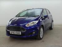 2013 Ford Fiesta TITANIUM Petrol blue Manual