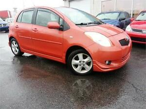 2008 Toyota Yaris RS SPORT AC / MAGS / BODY KIT / GR. ÉLECTRIQUE