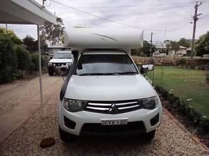 2011 Mitsubishi off road Camper Finley Berrigan Area Preview