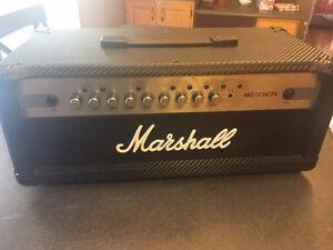 Marshall MG100HCFX head