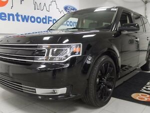 2016 Ford Flex limited ALL BLACK EVERYTHING!!
