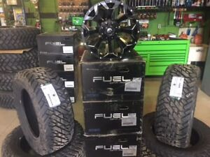 "Dodge Ram 2500 20"" Fuel Assault & Fuel Gripper MT Package"