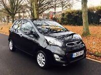 Kia Picanto Hatchback MK 2 1.25 EcoDynamics 2 5dr. Road Tax € 0.AIR CON,BLUETOOTH,HEATED SEATS.