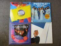 Rare Collection of LP Vinyl Records