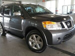 2012 Nissan Armada Platinum 4x4 - Heated Leather Seats, Nav, Bac