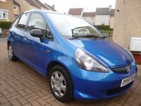 2005 55 Honda Jazz 1.2 S 5dr Hatchback FULL YEARS MOT