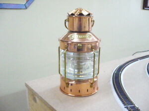 Anchor Lamp DHR oil