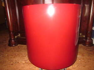 Large Ceramic cylinder planter made by Gainey