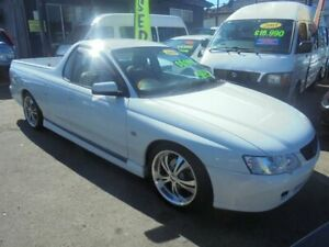 2003 Holden Commodore VY White 4 Speed Automatic Utility Punchbowl Canterbury Area Preview