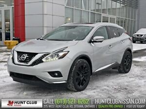 2016 Nissan Murano Platinum | Navi, Pano Moonroof, Leather, Bose