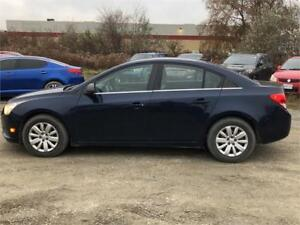 2011 Chevrolet Cruze LS-automatic-Low kms-great on gas-cert.