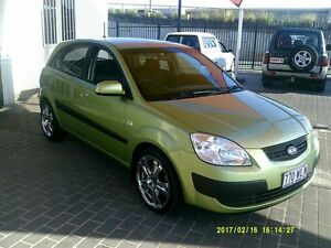 2006 Kia Rio JB EX Green 5 Speed Manual Hatchback Coopers Plains Brisbane South West Preview
