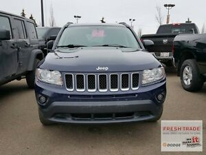 2013 Jeep Compass NORTH/ 4X4/ AUTOMATIC/ LADY OWNED AND DRIVEN Edmonton Edmonton Area image 2