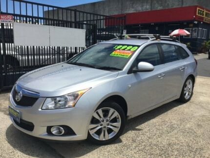 2013 Holden Cruze JH SERIES II MY AUTOMATIC CDX SPORTWAGON Silver 6 Speed Automatic Wagon Woodridge Logan Area Preview