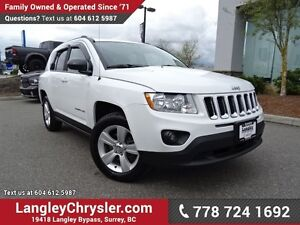2013 Jeep Compass Sport/North ACCIDENT FREE w/ 4X4, POWER WIN...