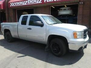 2011 GMC SIERRA EXT CAB 4X4, EXC COND DRVE AWAY ONLY $14400