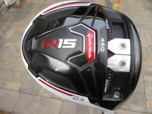 Taylormade R-15 Driver and R-15 3 wood