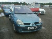 BREAKING RENAULT CLIO 1.4