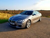 BMW 640D Gran Coupe M Sports I owner/ Dealer History/Low mileage/1 Year Manufacturer Warranty
