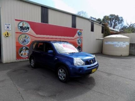2008 Nissan X-Trail T31 ST (4x4) Blue 6 Speed CVT Auto Sequential Wagon West Gosford Gosford Area Preview