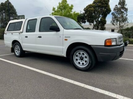 2000 Ford Courier PE GL 5 Speed Manual Crew Cab Pickup Fawkner Moreland Area Preview