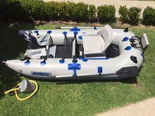 Sea Eagle 285 frameless fishing pontoon inflatable boat Sandringham Bayside Area Preview