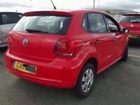 2011 MK5 6R VW POLO 1.2 PETROL IN RED BREAKING FOR PARTS