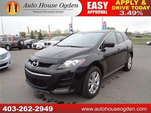 2011 Mazda CX-7 GS AWD LEATHER SEATS SUNROOF CALL 403 262 2949