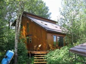 Cedar Lakefront  Cabin for Rent