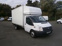 Ford Transit T350EF LWB Luton tdci 115ps DIESEL MANUAL WHITE (2014)