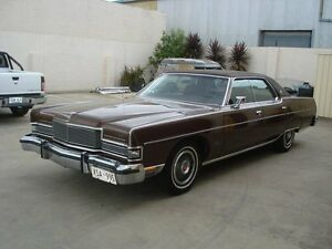 1973 Ford Mercury MARQUIS BROUGHAM 3 Speed Automatic Hardtop Brompton Charles Sturt Area Preview