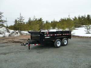#995 (new2015) P.J. 7 Ton Dump Trailer