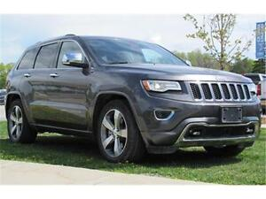 2014 Jeep Grand Cherokee Overland 4x4|V8|Sunroof|Leather|Navigat