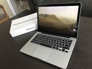 "Mint Macbook Pro Retina 13"", i5 2.4GHZ, 256GB SSD, 16GB RAM"