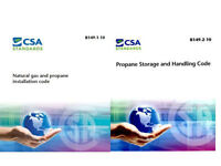Natural gas and propane and Propane storage and handling code
