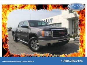 2010 GMC Sierra 1500 SLT, Leather, Rof, Nav, DVD!!!