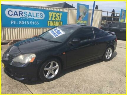 2002 Honda Integra Special Edition Black 5 Speed Automatic Coupe
