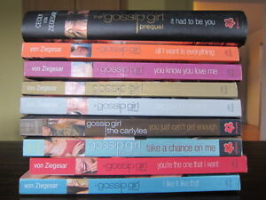Gossip Girl books Kingston Kingston Area image 1