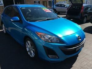2010 Mazda 3 BL 10 Upgrade SP25 Blue 5 Speed Automatic Hatchback Penrith Penrith Area Preview