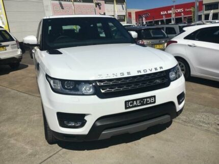 2017 Land Rover Range Rover Sport L494 17MY TdV6 CommandShift SE Fuji White 8 Speed Sports Automatic