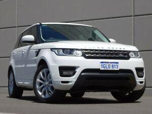 2014 Land Rover Range Rover Sport L494 MY15 TdV6 CommandShift SE White 8 Speed Sports Automatic Maddington Gosnells Area Preview