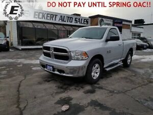 2015 RAM 1500 SLT REG CAB 4X4 WITH HARD TONNEAU COVER
