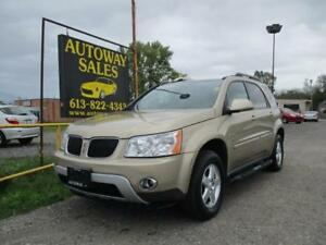2007 Pontiac Torrent 3.4L FWD Automatic * CERTIFIED*