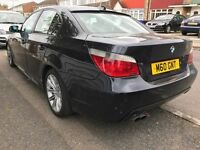 bmw e60 525d MSport leather automatic 2005 (not audi mercedes golf or other)