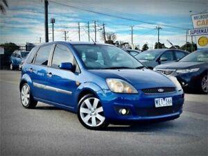 2008 Ford Fiesta WQ Zetec Blue 4 Speed Automatic Hatchback Cheltenham Kingston Area Preview