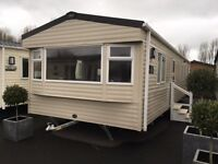 ABI Summer Breeze 3 bed 2017 d/g and c/h on Talacre Beach north wales