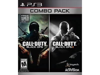 Activision Call Of Duty Black Ops 1 & 2 Combo Playstation 3