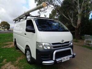 2009 Toyota HiAce White Manual Van