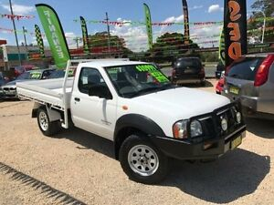 2005 Nissan Navara D22 DX 4X4 White Manual Cab Chassis Islington Newcastle Area Preview