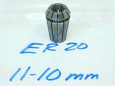 Used Er20 Spring Collet 11-10mm